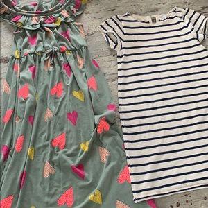 🔥🔥🔥2 nice dresses, Jcrew, cat and Jack